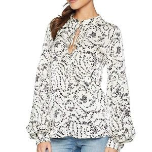 Bishop + Young Jules Long Sleeve Blouse Top